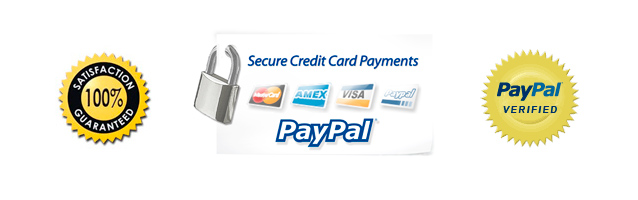 Payments I accept are credit and debit cards and Paypal